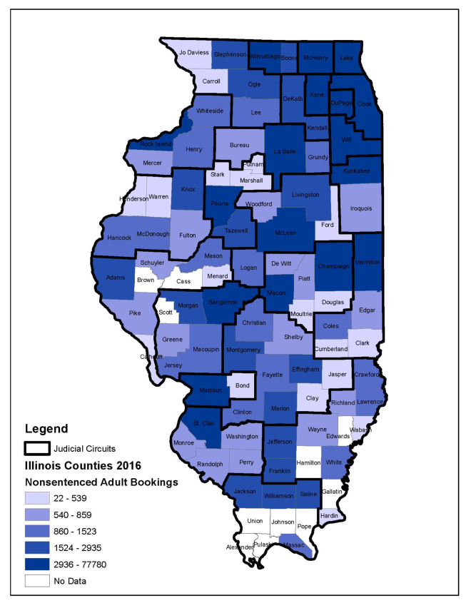 ICJIA | An Examination of Illinois and National Pretrial