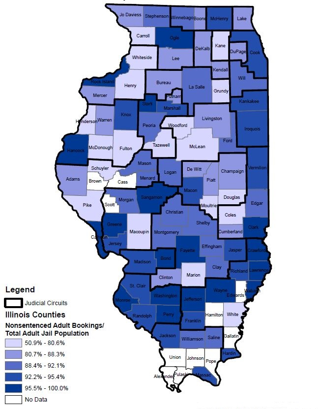 ICJIA   An Examination of Illinois and National Pretrial